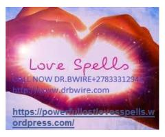 Powerful Lost Love Spell Caster /Psychic in U.S.A, UK, Canada+27833312943